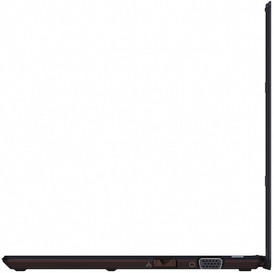 Sony VAIO X Series Notebook - Black Side