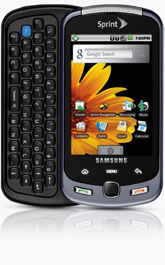 Samsung Moment Smartphone