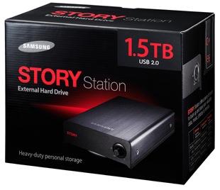 Samsung STORY Station External Hard Drive - Box