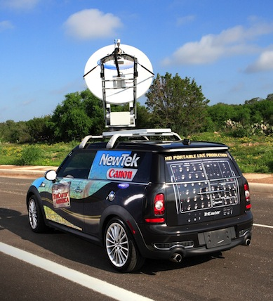 Mini Cooper - NewTek Tricaster XD300 HD Production
