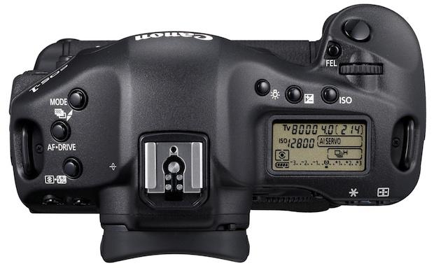 Canon EOS-1D Mark IV Digital SLR Camera - Top