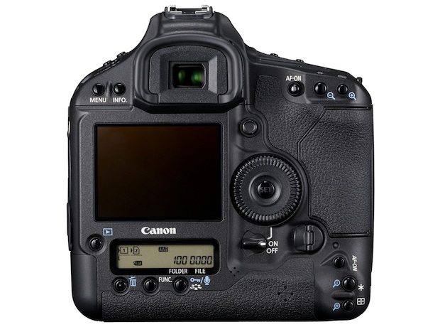 Canon EOS-1D Mark IV Digital SLR Camera - Back