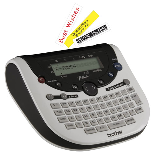 brother p touch label maker p touch pt 90 pt 1090 and pt 1290 label makers 28719