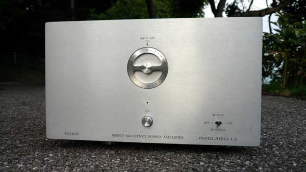 Daniel Hertz Telikos Mono Reference Power Amplifier