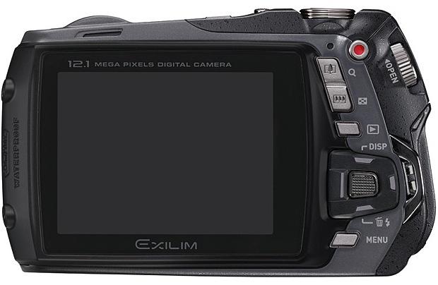 Casio EX-G1 EXILIM Digital Camera - Back