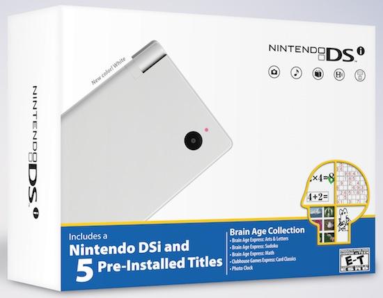 Nintendo DSi White Bundle