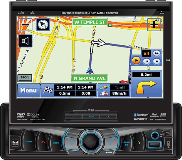 Dual XDVDN9131 In-Dash Navigation Receiver