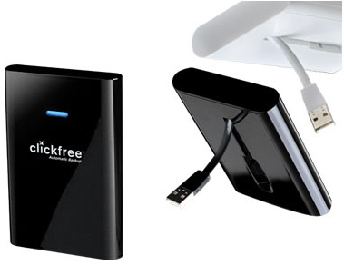 Clickfree C2 Portable Backup Hard Drive