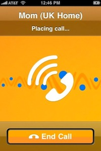 Vonage World Mobile for iPhone