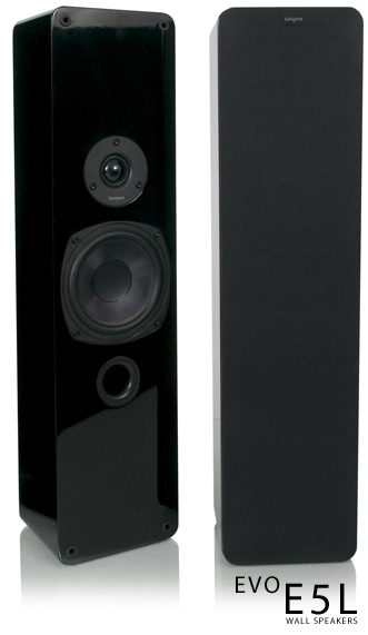 Tangent EVO E5L On-Wall Speakers
