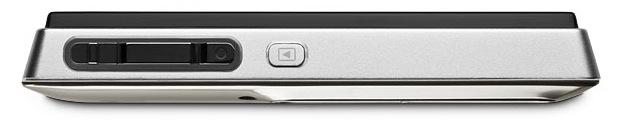 KODAK SLICE Touchscreen Digital Camera - Nickel - Top