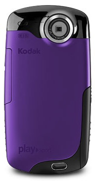KODAK PLAYSPORT Video Camera - Purple