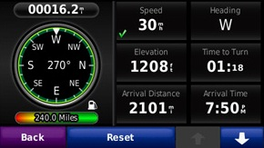 Garmin zumo 665 Screenshot