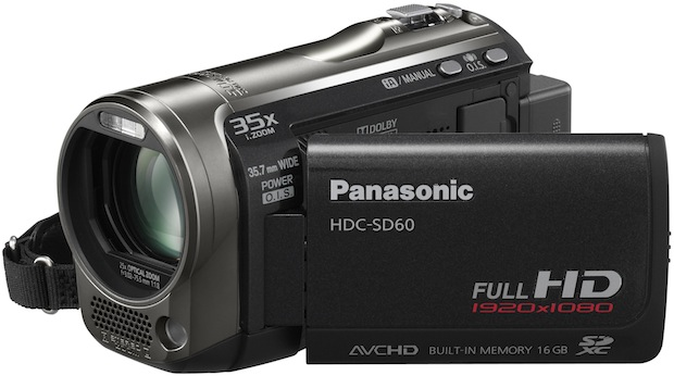 Panasonic HDC-SD60 Camcorder