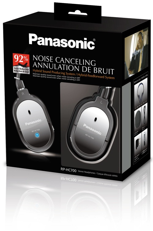 Panasonic RP-HC700 Noise Canceling Headphones