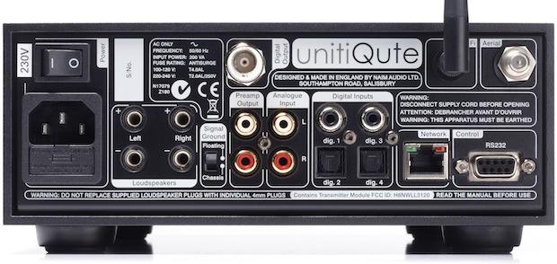 Naim UnitQute - back