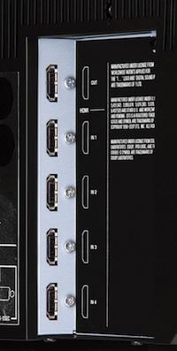 Yamaha HDMI Ports