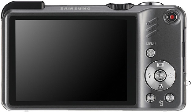 Samsung HZ35W and HZ30W Digital Cameras - Back