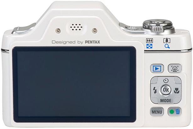 Pentax Optio I-10 Digital Camera - Back