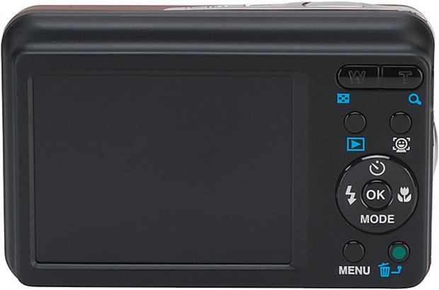 Pentax Optio E90 Digital Camera - Back