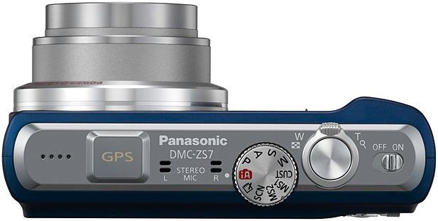 Panasonic DMC-ZS7 LUMIX Digital Camera - Top