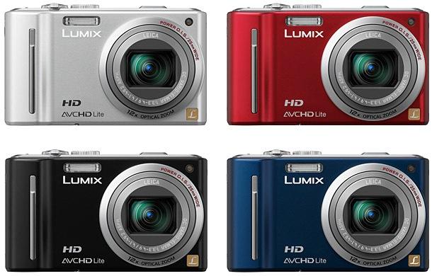 Panasonic DMC-ZS7 LUMIX Digital Camera - Colors