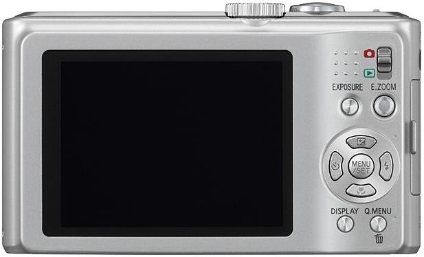 Panasonic DMC-ZS5 LUMIX Digital Camera - Back