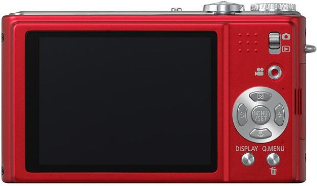 Panasonic DMC-ZR3 LUMIX Digital Camera - Back