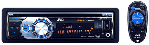 JVC KD-HDR60 CD Receiver