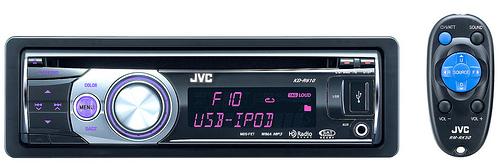 JVC KD-R610 CD Receiver