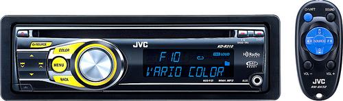 JVC KD-R310 CD Receiver