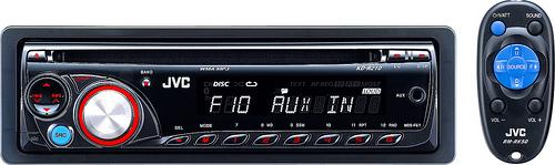 JVC KD-R210 CD Receiver