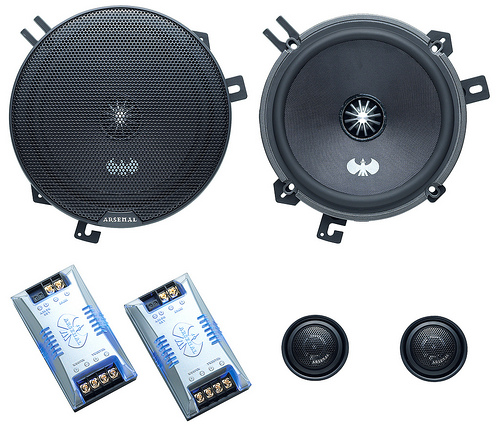 JVC CS-ARS650 Component Car Speakers