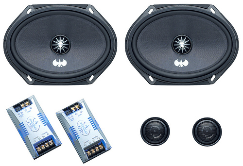 JVC CS-ARS680 Component Car Speakers