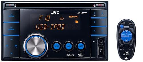 JVC KW-XR610 Double-DIN Head Unit