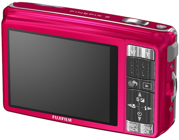 FujiFilm FinePix Z70 Digital Camera - Back