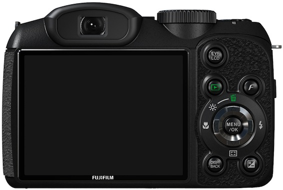 FujiFilm FinePix S1800 Digital Camera - Back