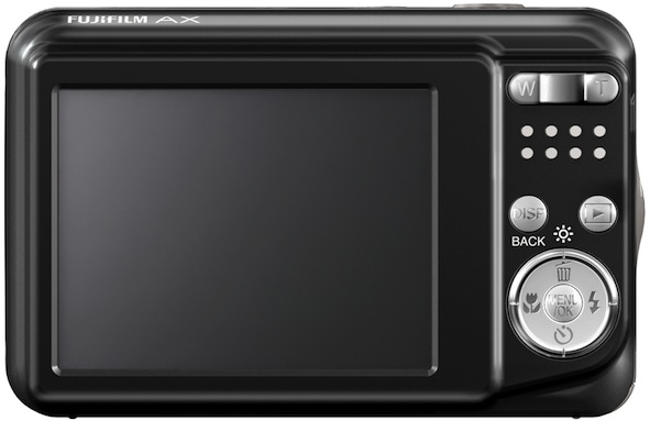 FujiFilm FinePix AX200 Digital Camera - Back
