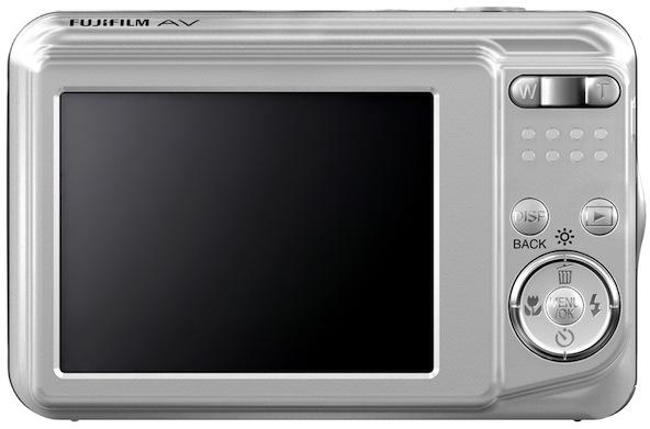 FujiFilm FinePix AV100 Digital Camera - Back