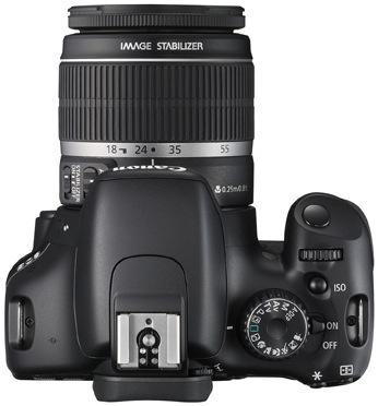 Canon EOS Rebel T2i Digital SLR Camera - Top