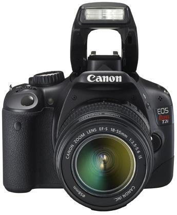 Canon EOS Rebel T2i Digital SLR Camera - Flash