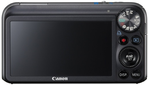Canon PowerShot SX210 IS Digital Camera - Back