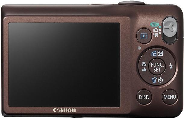 Canon PowerShot SD1300 IS Digital ELPH Camera - Back