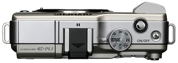 Olympus PEN E-PL1 Micro Four Thirds Digital Camera - Top