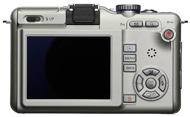 Olympus PEN E-PL1 Micro Four Thirds Digital Camera - Back