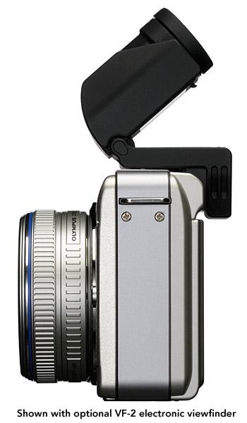 Olympus PEN E-PL1 Micro Four Thirds Digital Camera - Side