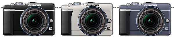 Olympus PEN E-PL1 Micro Four Thirds Digital Camera - Colors