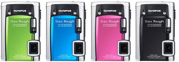 Olympus Stylus TOUGH-6020 Digital Camera - colors