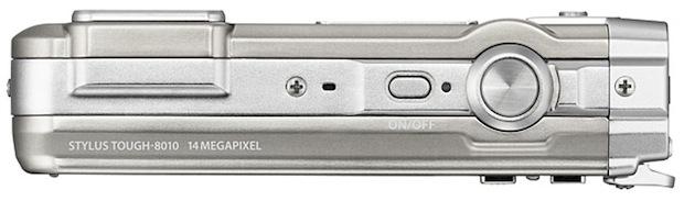 Olympus Stylus TOUGH-8010 Digital Camera - top