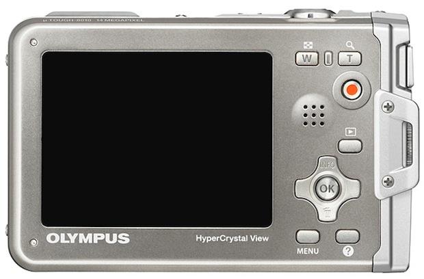 Olympus Stylus TOUGH-8010 Digital Camera - back